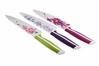 Нож кухонный в чехле цветной