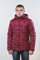 Куртка мужская на синтепоне бордо