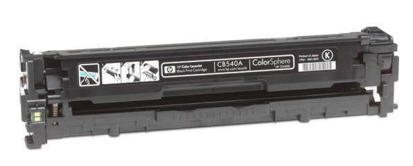 Картридж HP 125A (CB540A), Black, 2.2k, ColorWay CW-H540BKM