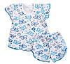 Пижама летняя для девочки, р.56, рост 86-98 см