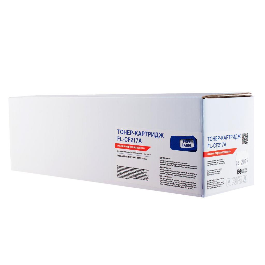 Картридж HP 17A первопроходец, пустой, OEM Free Label