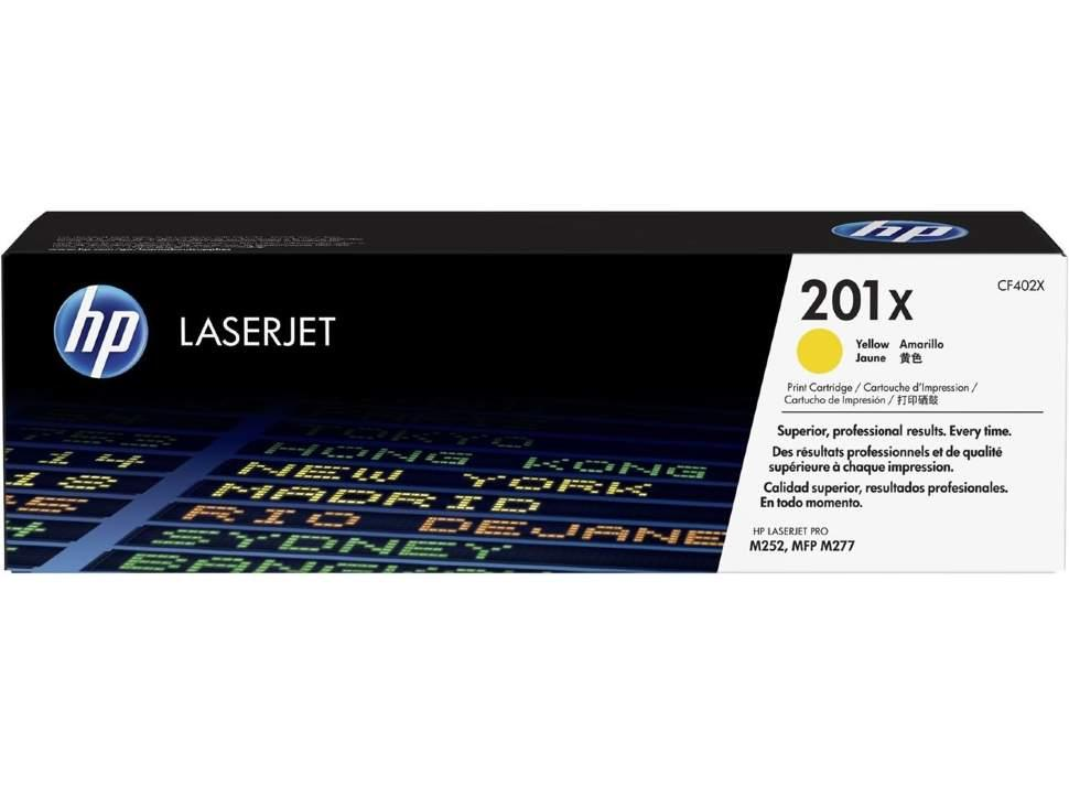 Картридж HP 201X СLJ M252/M277 Yellow (2300 стр) OEM CF402X