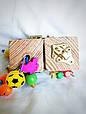 Бизикубик для детей развивающий ручной работы 3, фото 2