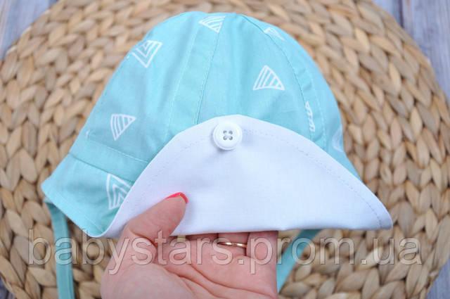 шапочки для новорожденных летние