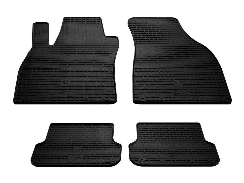 Коврики в салон Audi A4 (B6) 00-/AUDI A4 (B7) 04- (комплект - 4 шт)