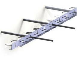 ПДШ Ель-профіль L-75: висота (h) 75мм, довжина (l) 3м, товщина металу (s) 2,5мм