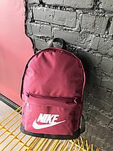 Рюкзак спортивньій R-09-04 Nike 600D бордо