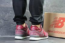 Зимние кроссовки New Balance HM 574 замшевые,бордовые 41р, фото 2