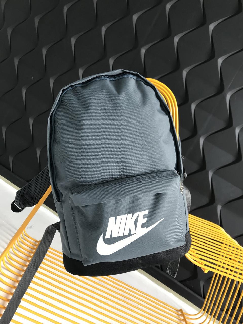 Рюкзак спортивньій R-09-02 Nike 600D сірий