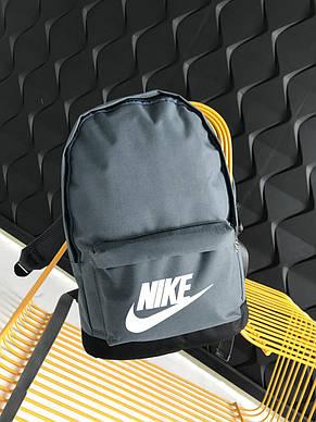 Рюкзак спортивньій R-09-02 Nike 600D сірий, фото 2