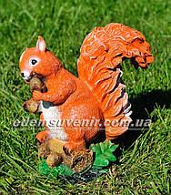 Садова фігура Белка с орешками, фото 2