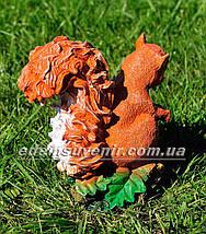 Садова фігура Белка с орешками, фото 3