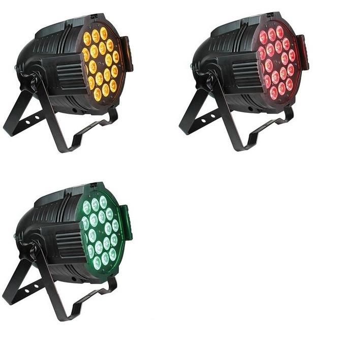 Світлодіодний прожектор LED PAR Heng Feng HF-43 (18x15w, 5in1)