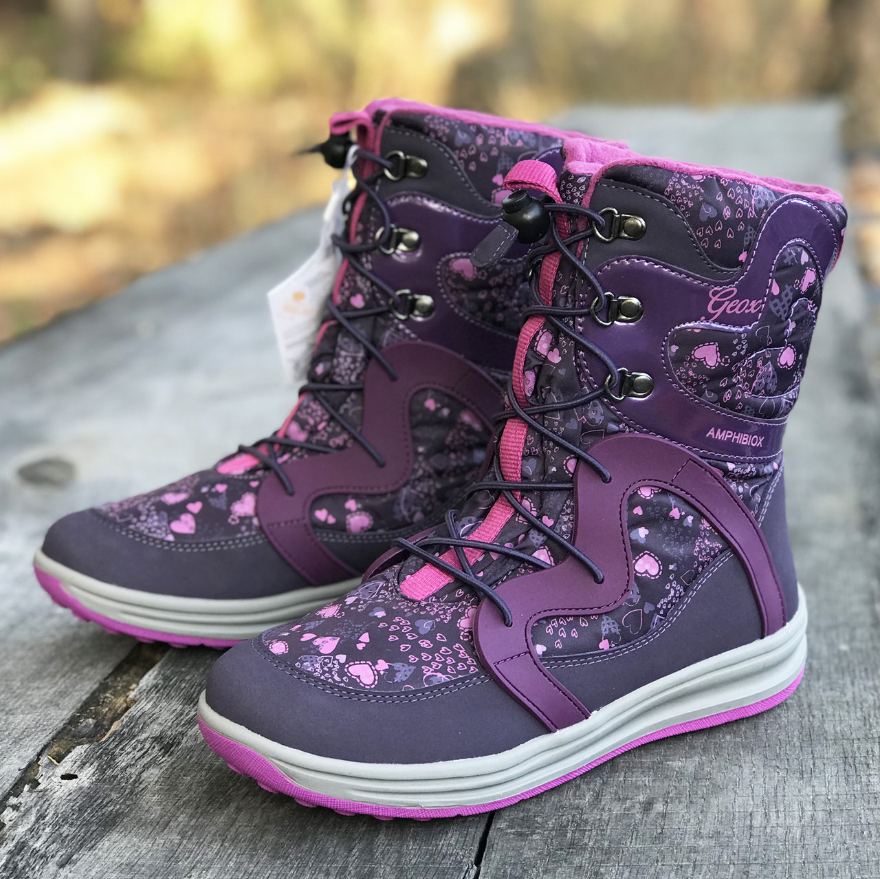 a5189bff2 Зимние ботинки Geox (Италия) J Roby р 38. зимняя обувь джеокс - Интернет