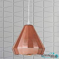 Люстра подвесная AuroraSvet loft 11800 золото.LED светильник люстра. Светодиодный светильник люстра.