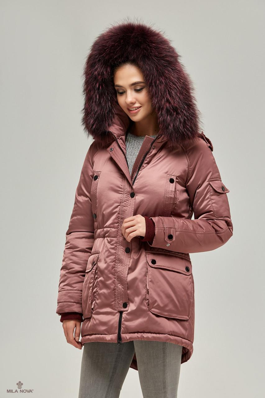 Зимняя куртка-парка Фреза