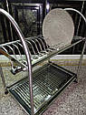Сушка для посуды двухъярусная GA Dynasty 17309, фото 8