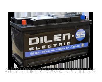 Аккумулятор автомобильный Dilen Electic 95AH R+ 680A