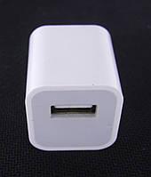 Сетевое зарядное устройство apple usb 5v 1.0a для iphone (original 90%), фото 1