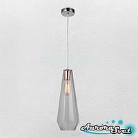 Люстра підвісна AuroraSvet loft 11900 хром.LED світильник люстра. Світлодіодний світильник люстра.