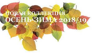 Новая коллекция осень - зима 2018/19