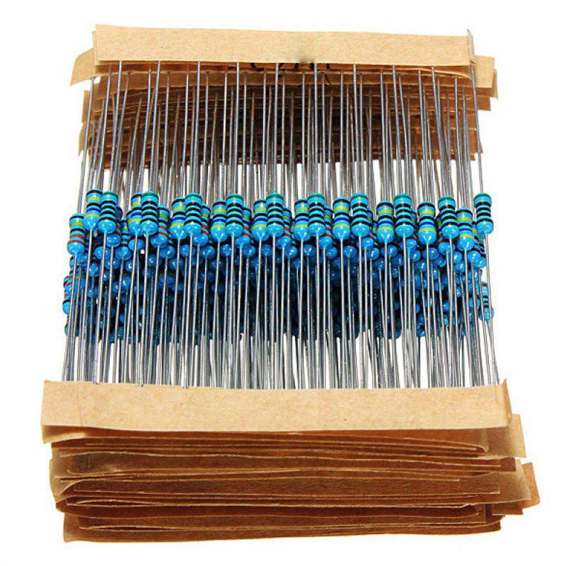 Набор металлопленочных резисторов 210 штук (21 номинал по 10шт)