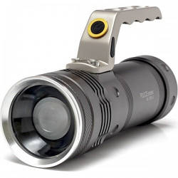 Фонарь прожектор фонарик T801 с зумом 158000W