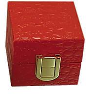 Шкатулка из кожзама для кольца