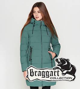Braggart Youth | Куртка женская зимняя 25285-1 зеленая
