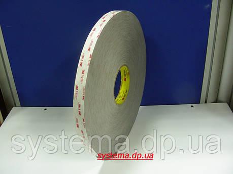 3M™ VHB™  RP32P - Скотч монтажный, двухсторонний 3M, 19,0х0,8 мм, рулон 66 м, бумаж. лайнер, фото 2
