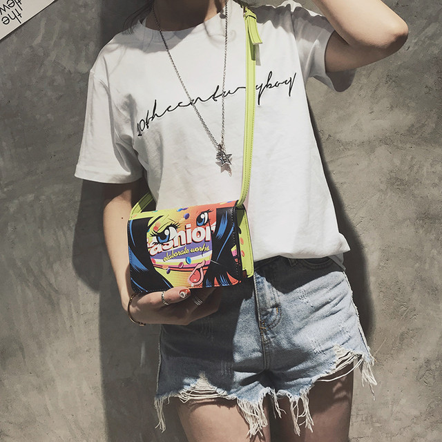 Яркая молодежная сумочка