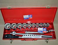 Набор (чемодан) HAISSER 14 предметов (головки 22-50)