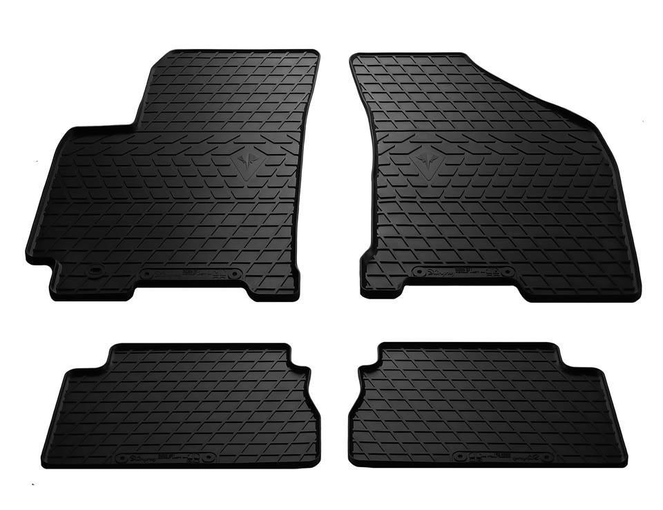 Коврики в салон Chevrolet Lacetti 04-/ Daewoo Gentra 13- (design 2016) (комплект - 4 шт)