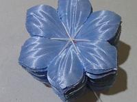 Атласные цветочки 3935 упаковка 100 шт, фото 1