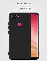 Силиконовый TPU чехол JOY для Xiaomi Mi 8 Lite черный