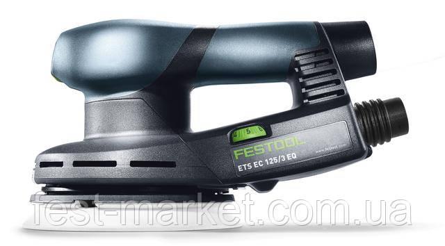Эксцентриковая шлифовальная машинка ETS EC 125/3 EQ Festool 571895