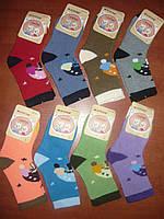 Детские махровые носочки Корона. р. L. Ассорти. Бамбук, фото 1