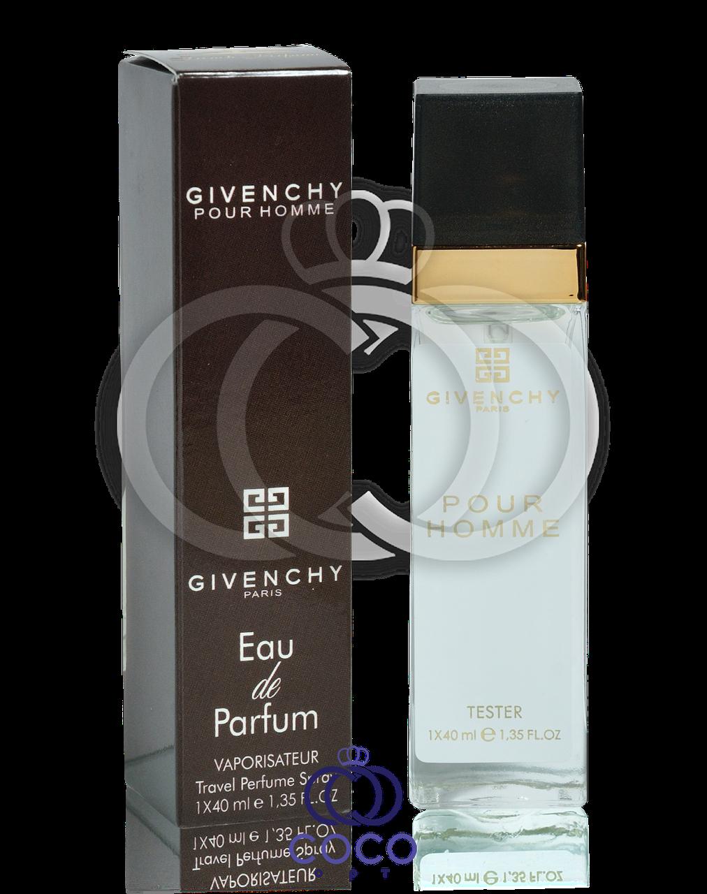 Мужской мини парфюм Givenchy Pour Homme (тестер) 40 мл