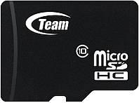 Карта памяти Team microSDHC class10 SD adapter 16Gb, фото 1