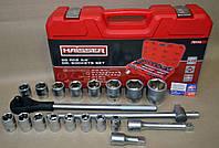 Набор (чемодан) HAISSER 20 предметов (головки 19-50)