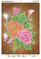 Схема для вышивки бисером Волшебные цветы