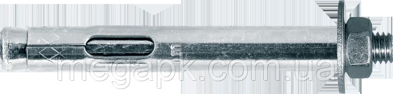 Анкер однораспорный с гайкой М10х80мм (гайка М8)