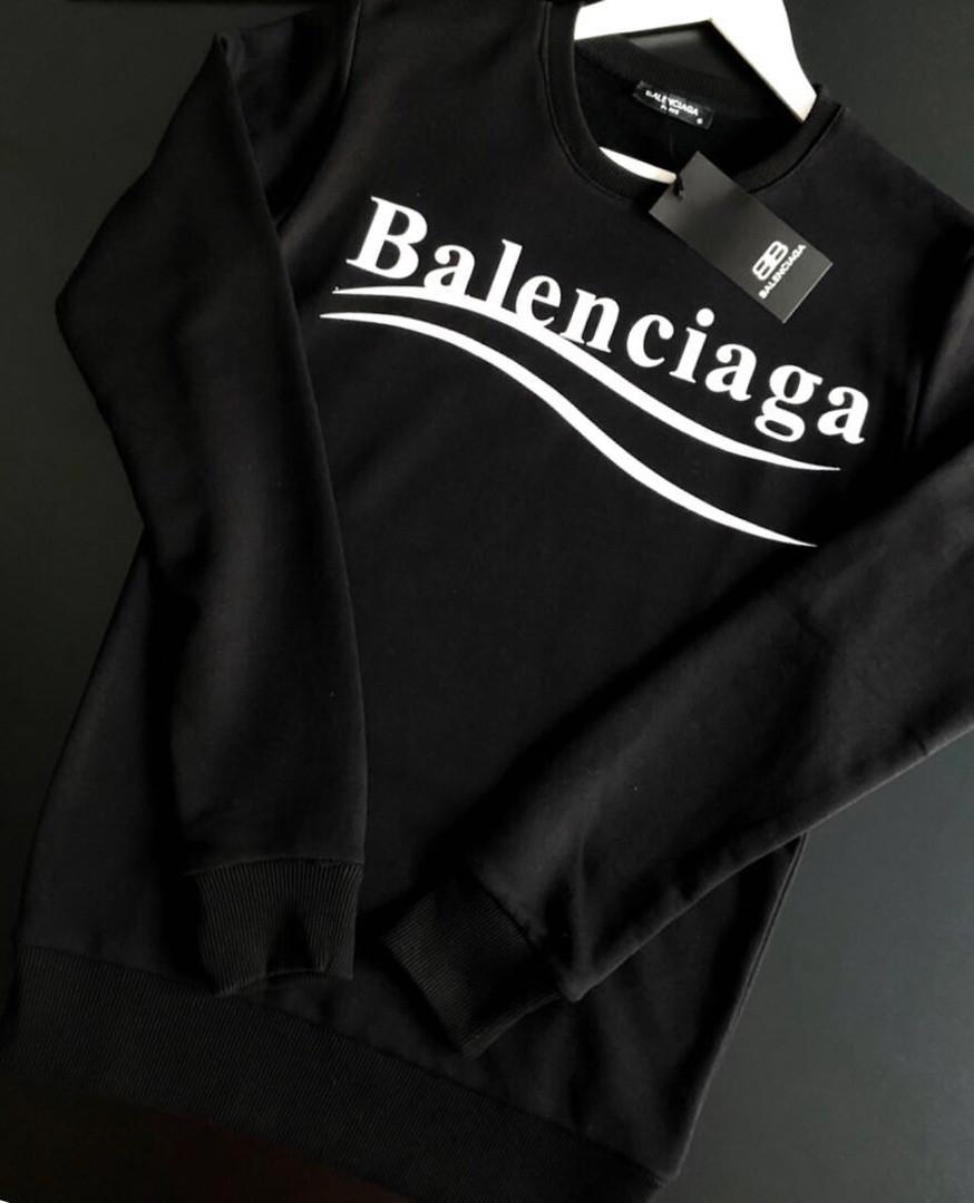 Свитшот Balenciaga черный