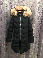 Подростковое зимнее пальто для девочки
