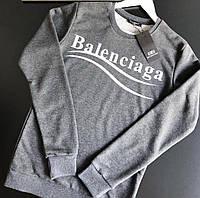 Свитшот Balenciaga серый