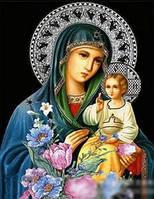 """Набор алмазной вышивки Икона Богородицы """"Неувядаемый Цвет"""""""