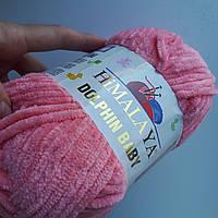 Нитки для вязания Dolphin Baby Himalaya 80346 лосось, фото 1