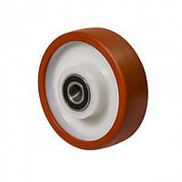 """Колесо без кронштейна серія 53 """"Norma"""", кульковий підшипник, діаметр-125мм"""