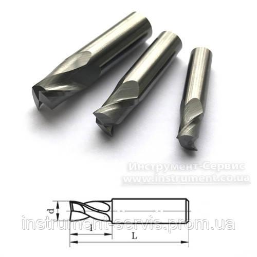Фреза шпоночная твердосплавная цельная Ф 6,0 40/10 ВК8 (имп.ст)
