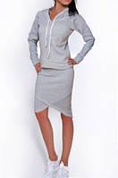 Популярный утепленный комплект юбка +кофта